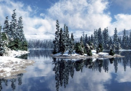 Lake of Snow