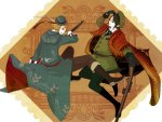 Romania and Bulgaria (Hetalia)