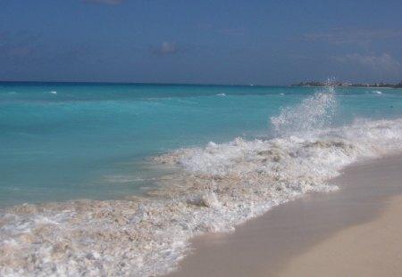 Beach Cancun Beaches Nature Background Wallpapers On Desktop Nexus Image 1268658