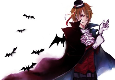 Romania the Vampire - anime, romania, hot, vampire, country, hetalia