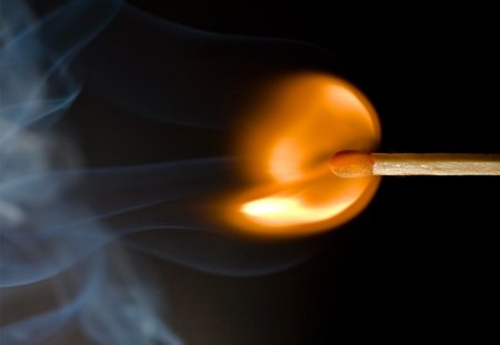 Heat of the Moment - fire, high speed pic, quick match, match
