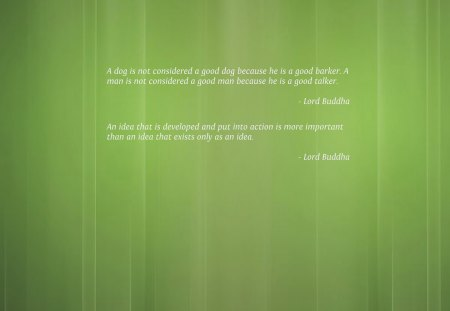 Spiritual Quotes by Lord Buddha - buddha, spirituality, green, quotes