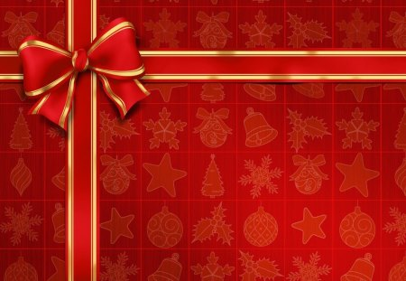 Red Christmas Gift 3d And Cg Abstract Background Wallpapers On Desktop Nexus Image 1270704