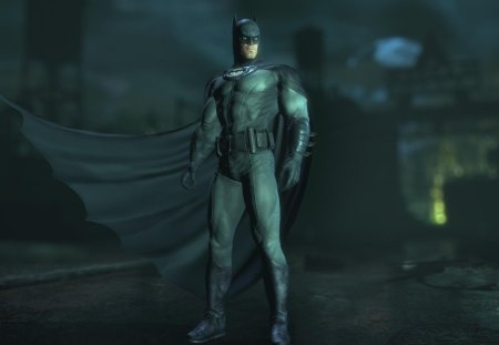 batman 3d - 3d, arkham asylum, bat, awesome, dark knight, arkham city, batman