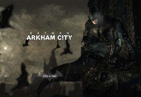 arkham city - 3d, arkham asylum, bat, awesome, dark knight, arkham city, batman