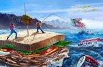 Sandwich Raft