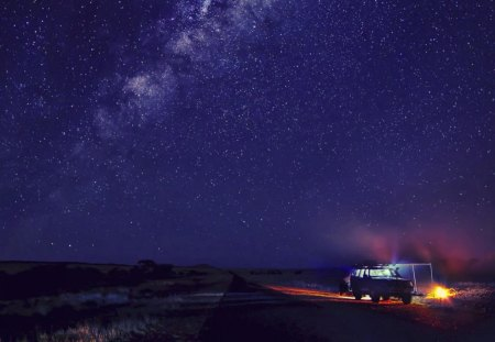 Camp And Starry Sky Sky Nature Background Wallpapers On Desktop Nexus Image 1272417