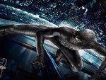 The Amazing Spiderman HD Wallpaper- Andrew Garfiled  - Black Suited Spiderman HD 1080p