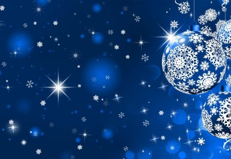 Desire a Blue Christmas - Winter & Nature Background ...