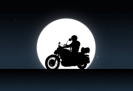 Yamaha Virago 535 Night - Yamaha & Motorcycles Background Wallpapers