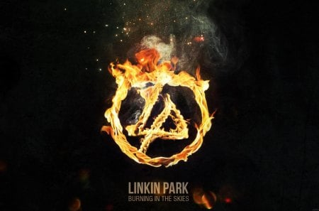 Linkin Park - fire, linkin park, music, band, entertainment, beautiful