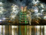 Christmas tree in Rio