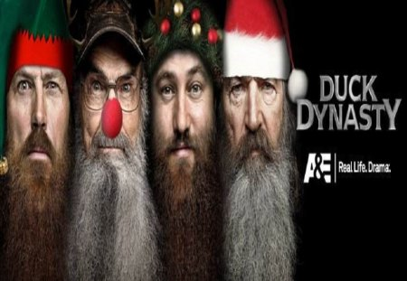Duck Dynasty Christmas - phil robertson, entertainment, silas robertson, jase robertson, tv series, willy robertson, duck dynasty