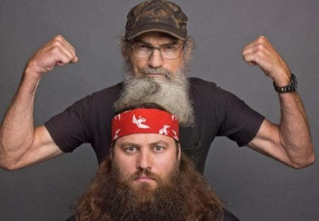 Uncle Si and Willy - entertainment, si, willy, duck dynasty, tv series