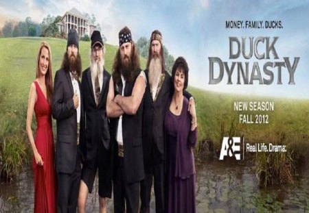 Duck Dynasty - robertson family, entertainment, duck dynasty, tv series