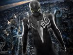 Symbiote Spiderman - The Amazing Spiderman Black Suited HD
