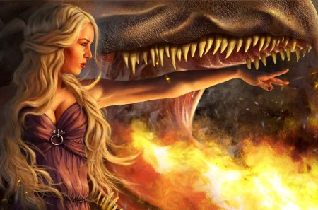 Daenerys Targaryen - The Queen of Dragons - pretty, wonderful, stunning, marvellous, game of thrones, adorable, nice, fantasy, tv show, outstanding, wallpaper, daenerys targaryen, super, essos, a song of ice and fire, fire, entertainment, awesome, great, westeros, beautiful, woman, picture, show, the queen of dragons, tv series, amazing, inferno, fantastic, george r r martin, flames, medieval, skyphoenixx1