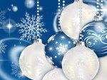 Blue Christmas Treat