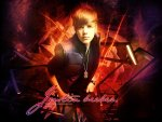 justin bieber on fire