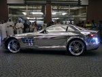 Mercedes SLR Mclaren White Gold