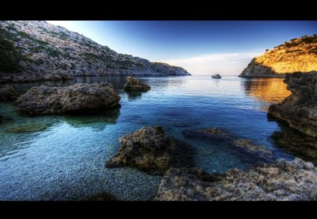 Anthony Quinn Bay Rhodes Greece - rhodes, bay, greece, quinn, anthony