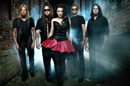 Evanescence Darkness - artist, evanescence, music, band, singer