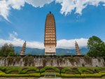 the three towers of dali yunnan china