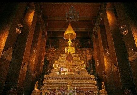 The Golden Buddha - religious, buddha, love, golden