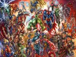 Marvel And DC Heroes