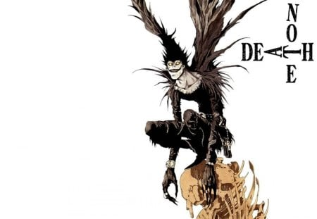 DeathNote - cant think of a fourth, black, i forgot his name, death note
