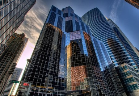 Skyscraper in Chicago - skyscraper, usa, chicago, ilinois