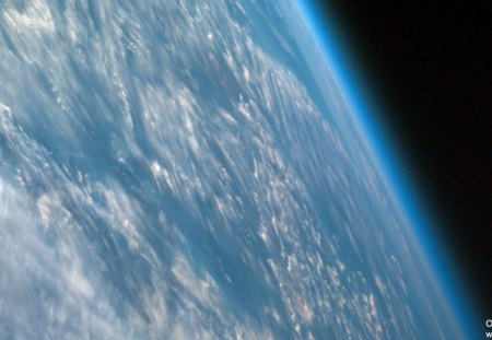 Earth View From Space Planets Space Background