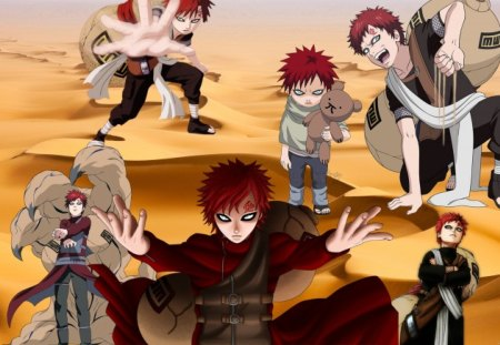 Gaara Of The Sand Naruto Anime Background Wallpapers On