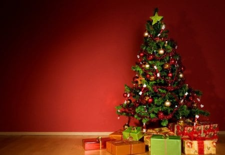Christmas Tree Backgrounds.Gifts Under The Christmas Tree Other Abstract Background