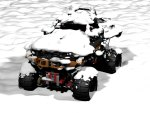 Rock Crawler Christmas Snow