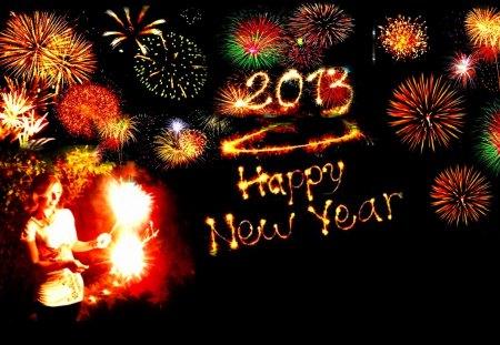 Kanchan Bagari Happy New Year Wallpaper - Bollywood