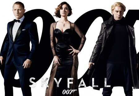 Skyfall 2012 Movie - cool, bullets, movie, action, james bond