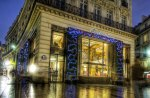 cartier in paris at christmas hdr