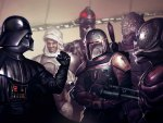 darth vader & the bounty hunters