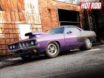 '71 Plymouth Cuda tuned for Drag race