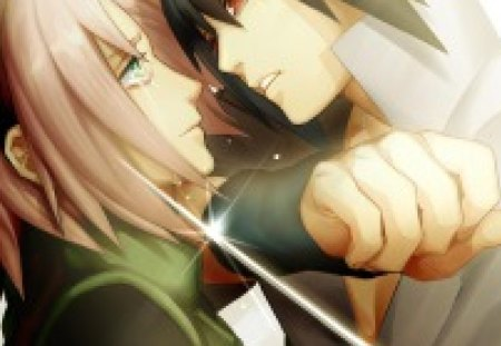 Sakura Sasuke Anime Love And Romance Wallpapers And Images