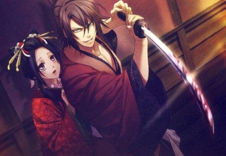 Okita Souji And Chizuru Yukimura Other Anime Background Wallpapers On Desktop Nexus Image 1291617