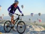 Mountain Biking and Balloons