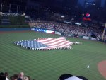 Flag,July 4th,Comerica Park Detroit Mi