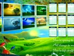 Beautiful 2013 Calendar