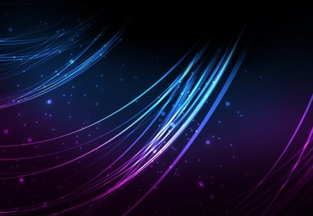 Strands~ - cant think of a fourth, strands, purple, blue