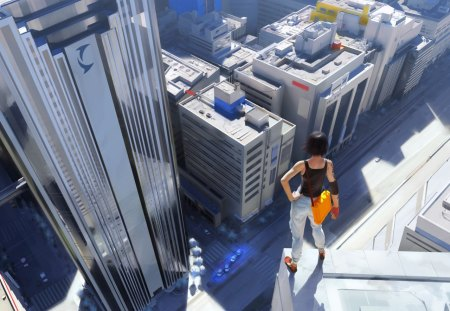 Mirrors Edge - sexy 3d, mirrors edge, 3d girl, mirrors, edge