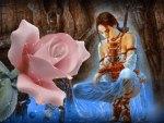 Guerrera Meditando