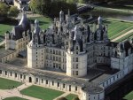 majestic chambord castle in france