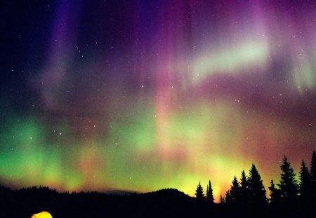 Aurora Borealis / Northern Lights - aurora borealis, fuzz